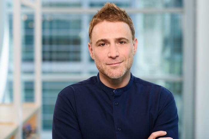 Headshot of Stewart Butterfield