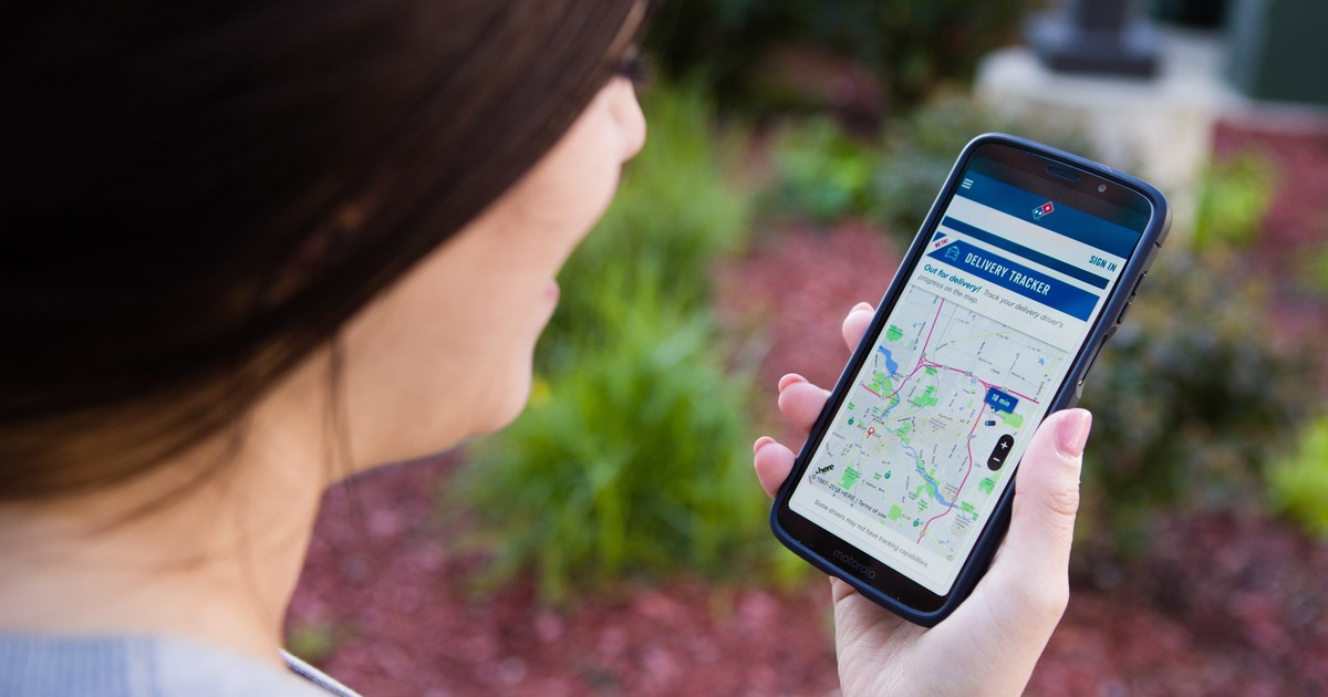 Domino's Ups Its Delivery Game Again with GPS Tracking
