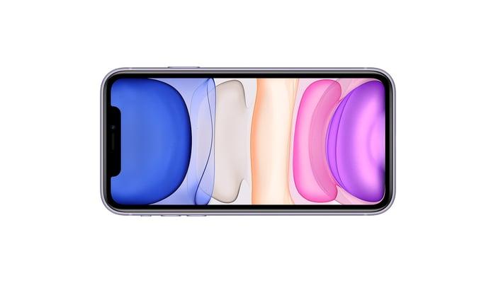 Apple's iPhone 11.