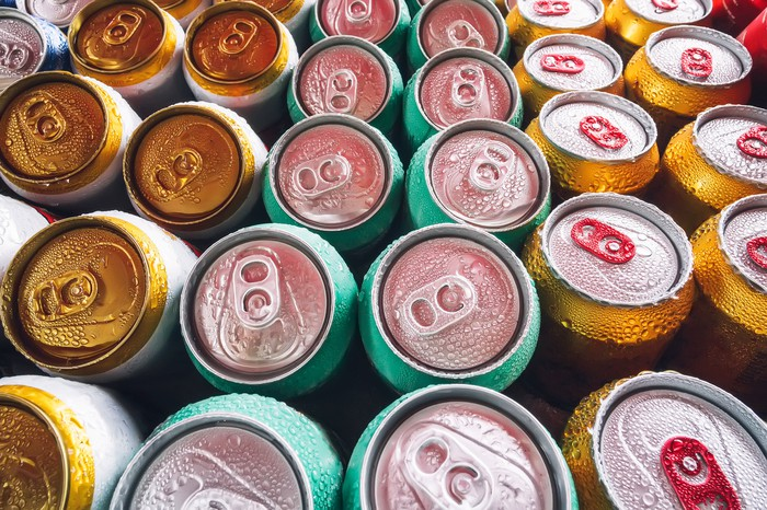 Soda Drinks Cans