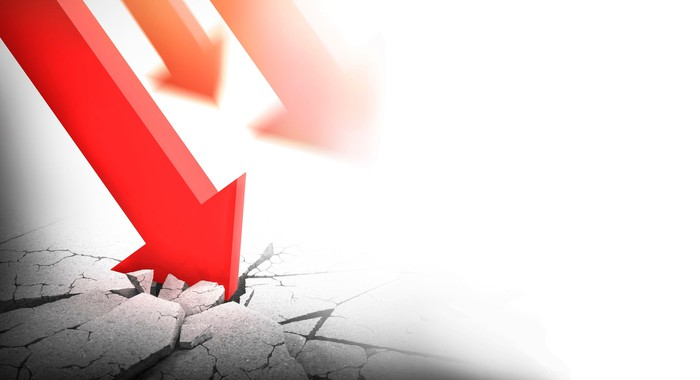 Stocks declining