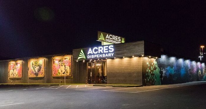 Acres Dispensary in Las Vegas.