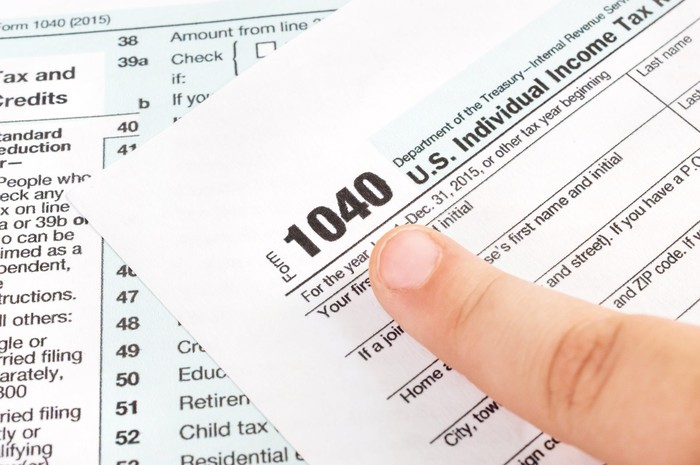 1040 US Individual Income Tax Form