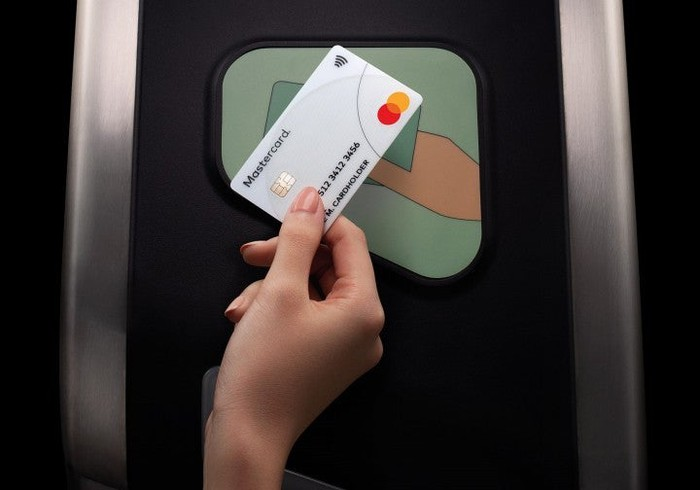 Payment made with Mastercard.