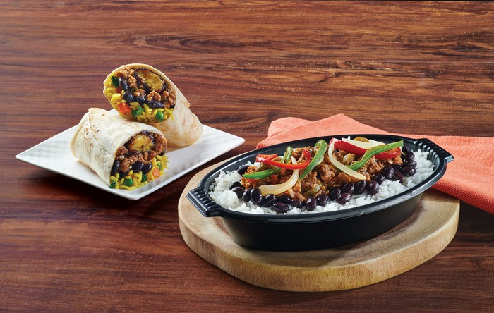 "Pollo Tropical is taking its bold flavors beyond chicken with the launch of a Vegan Tropichop and Wrap featuring a ""picadillo"" made with Beyond Meat"