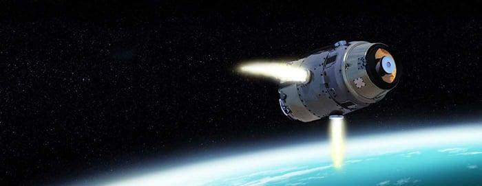 Raytheon space technology.