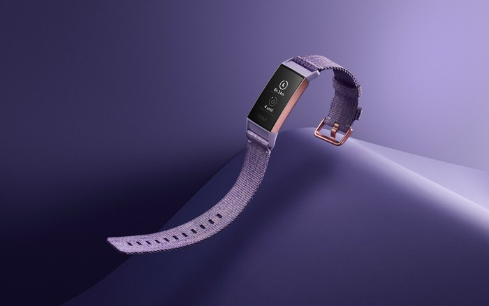 Fitbit Charge 3 in purple