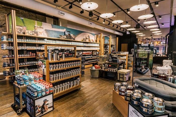YETI store in Chicago.