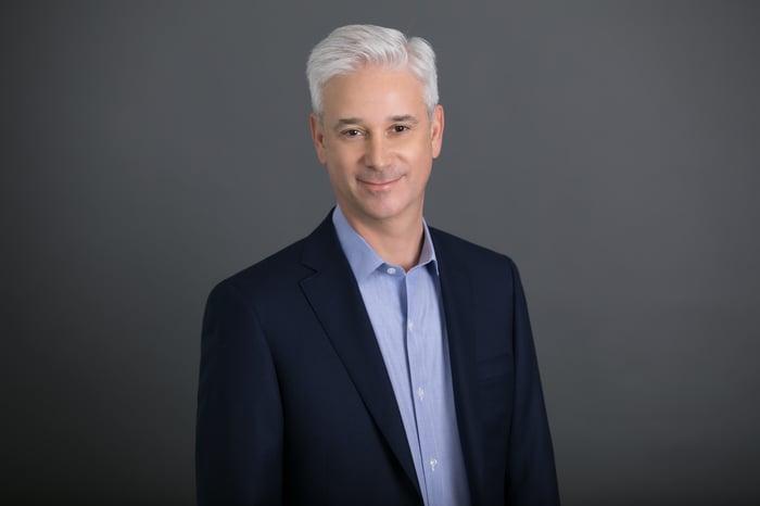 Wells Fargo CEO Charles Scharf headshot.