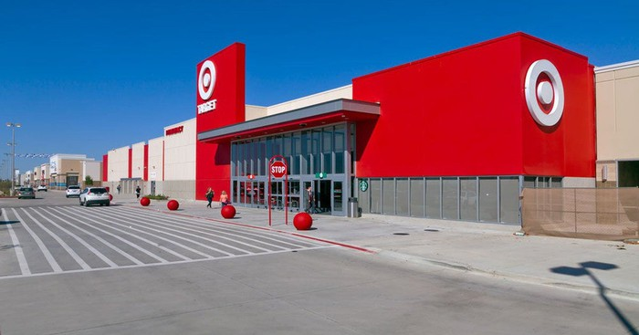 Target store as seen from outside.