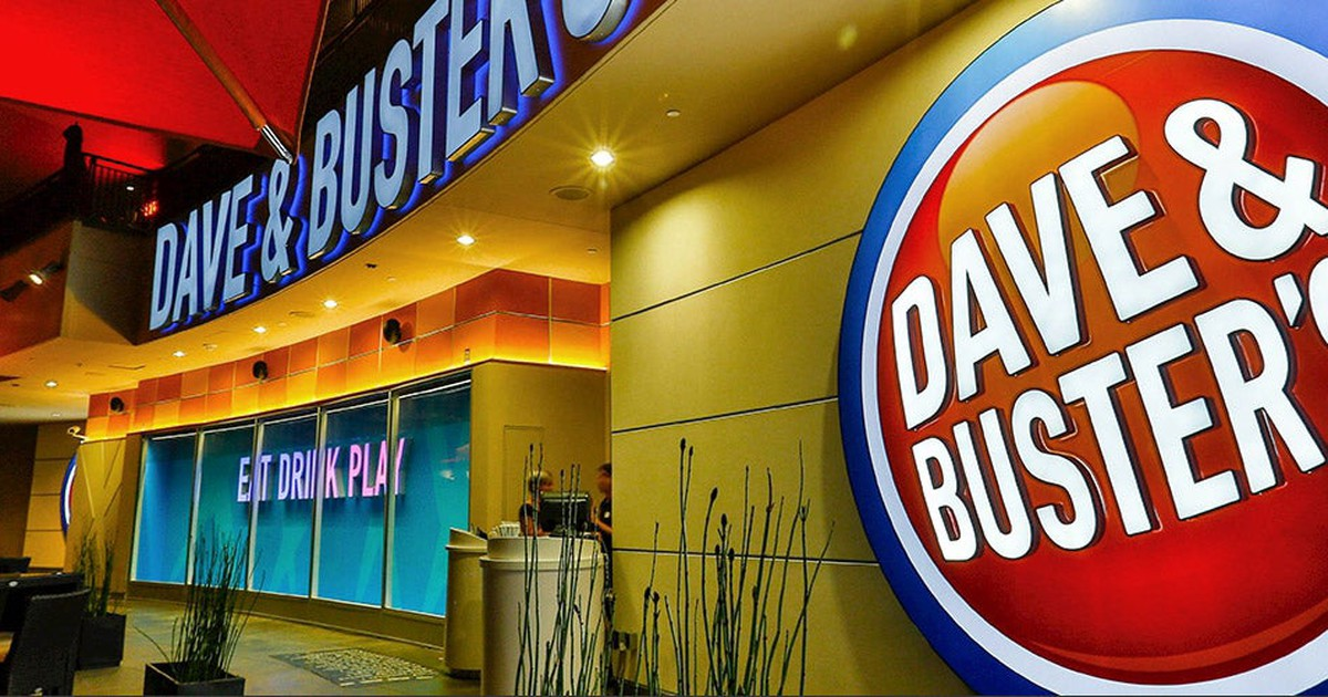 Why Dave & Buster's Stock Was Climbing Today