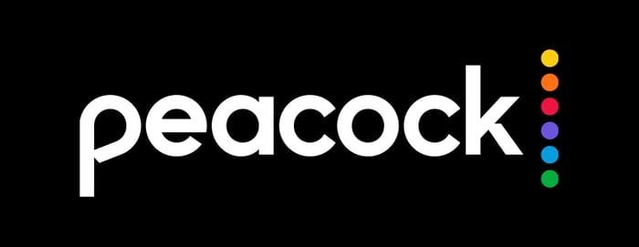The Peacock TV logo