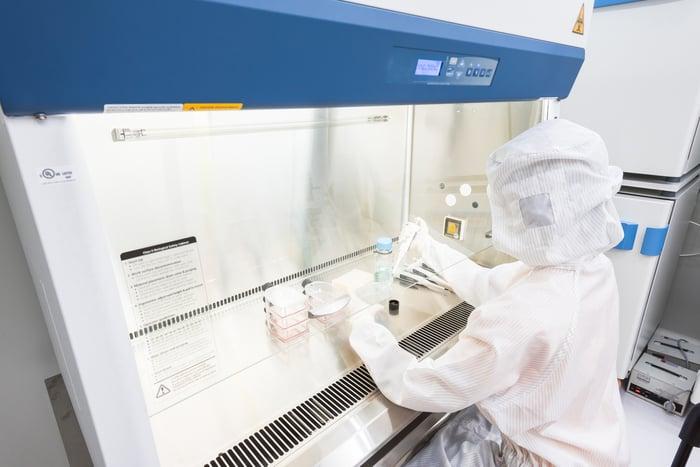 Bio lab testing