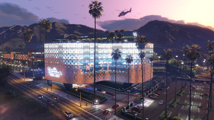 The Diamond Casino in Grand Theft Auto V's online mode.