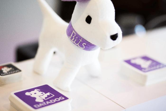 Datadog's mascot Bits