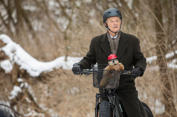Jeep e-Bike with Bill Murray and Poppy the Groundhog