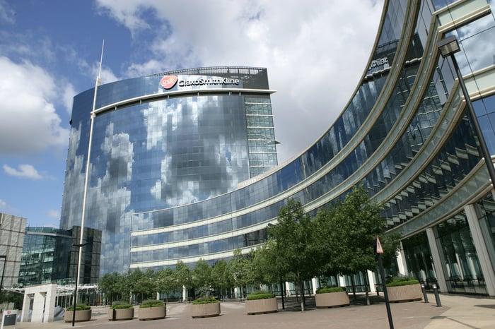 GlaxoSmithKline office building in the UK