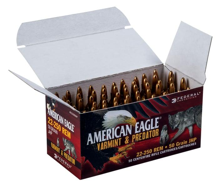 An open box of ammunition.