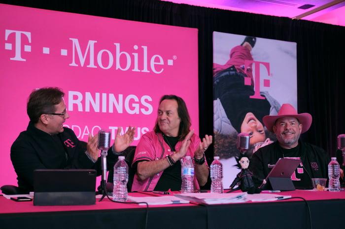 T-Mobile management team.