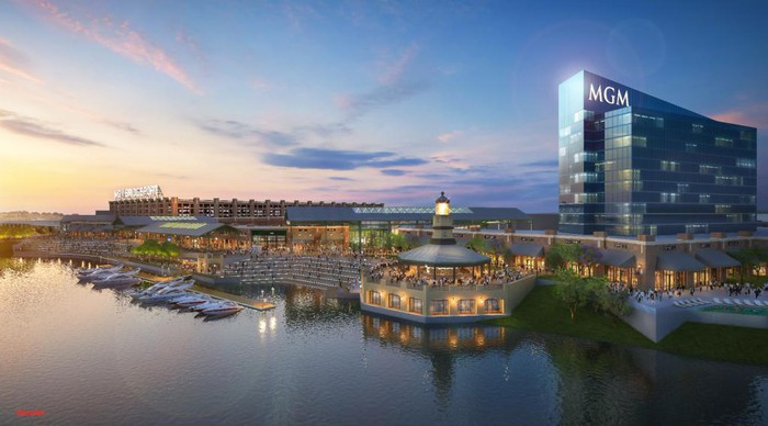MGM Bridgeport artist's rendering