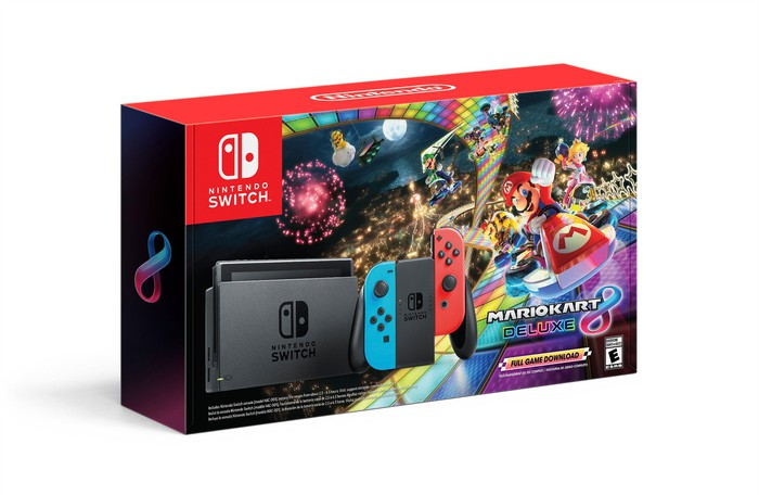 Nintendo Switch packaging