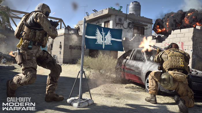 capture the flag in Call of Duty: Modern Warfare