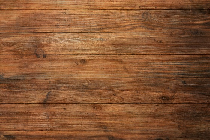 A sample of wood flooring