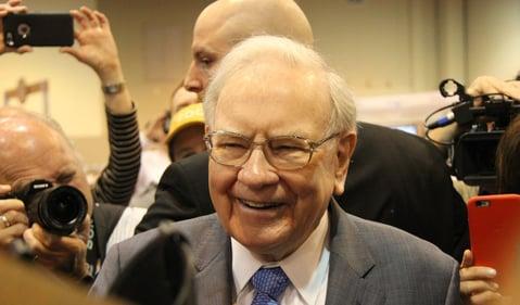 Buffett pic smiling