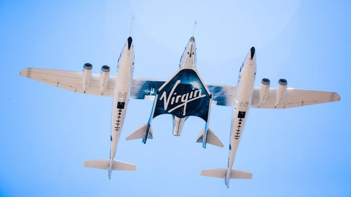 Virgin Galactic's Eve space craft hitching a ride into orbit.