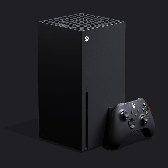 Microsoft's Xbox Series X.