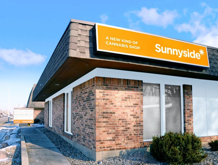 A Sunnyside* dispensary in Champaign, Illinois.