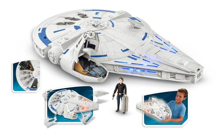 Star Wars Millennium Falcon play set