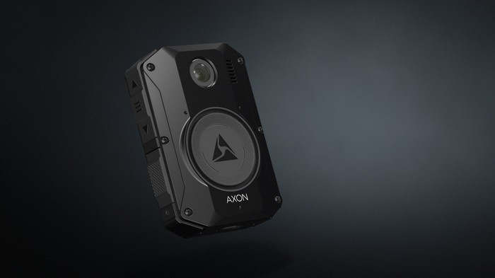 Axon Body 3 with a black background.