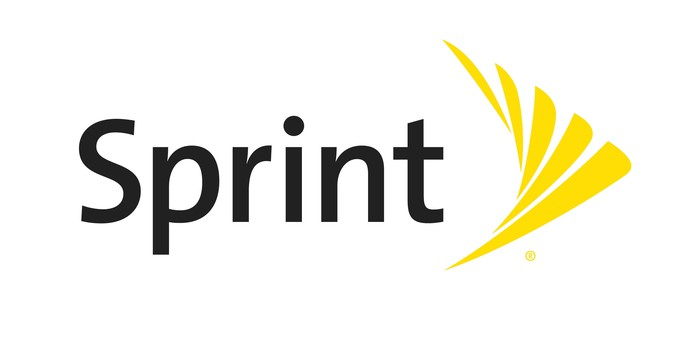 Sprint logo.