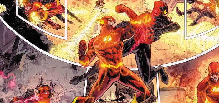 DC Comics' Flash.
