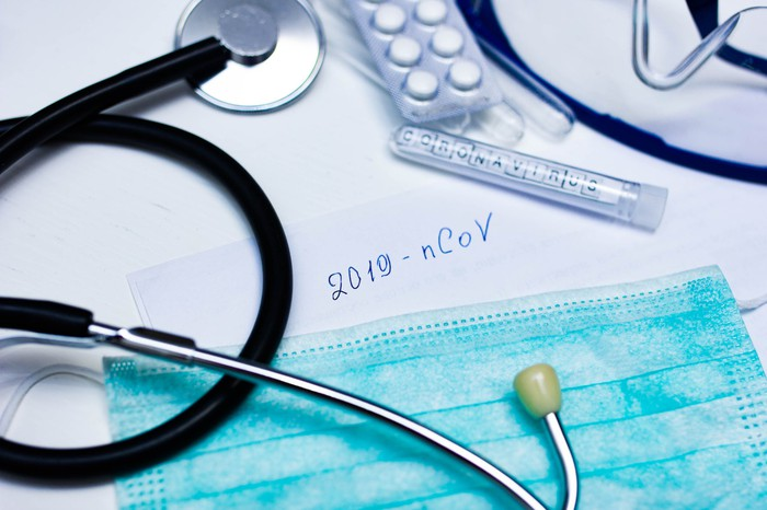 stethoscope and medical equipment