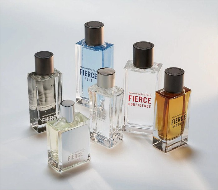 Abercrombie's Fierce fragrances.