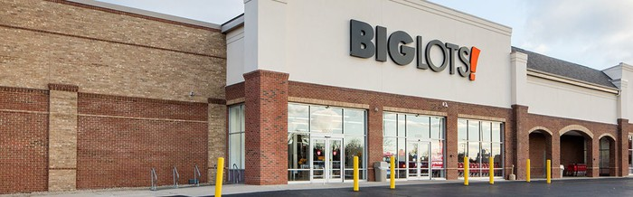 Big Lots storefront