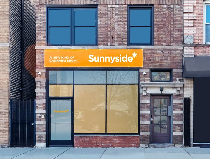 Sunnyside* dispensary in downtown Chicago.
