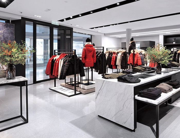 A Canada Goose store in Hong Kong.