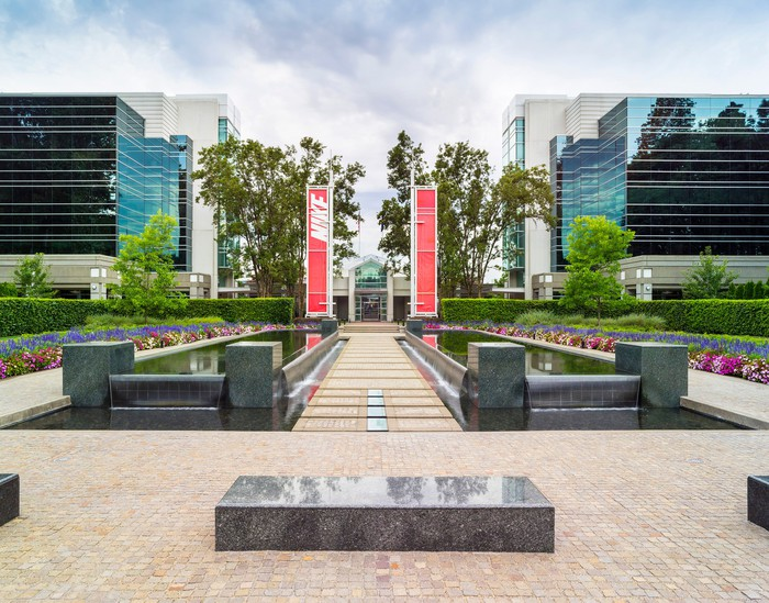 Nike's headquarters campus.
