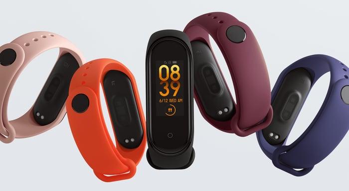 Xiaomi's Mi Band 4.