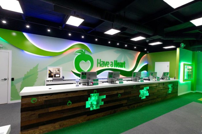 A Have a Heart dispensary in Coalinga, California.