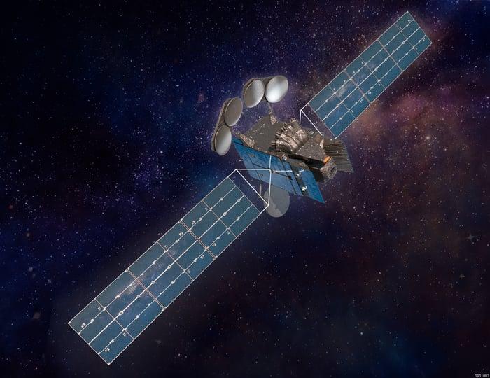 Artist's conception of Intelsat 40e satellite