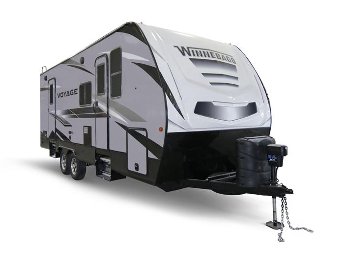 the Winnebago Voyage camper