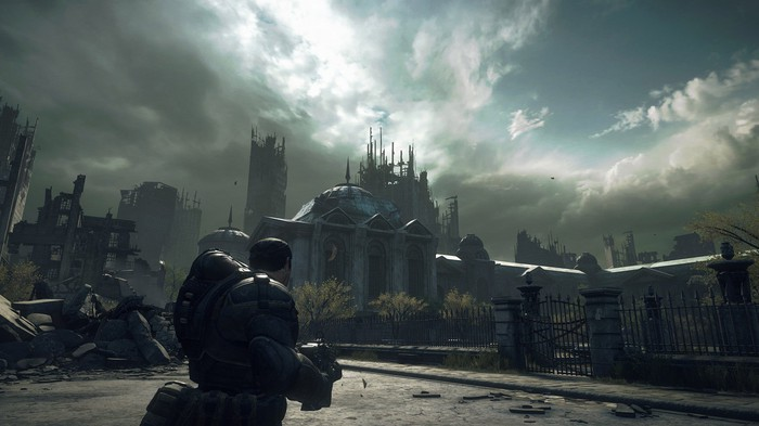 A screenshot from a video game running on the Xbox Series X.