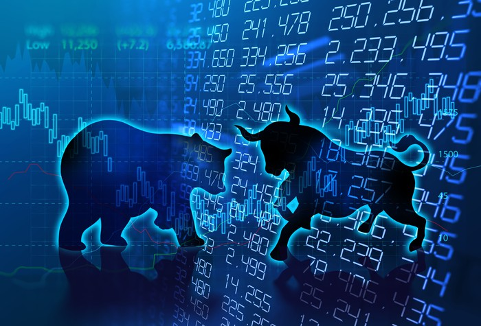 A bear and a bull on financial numbers