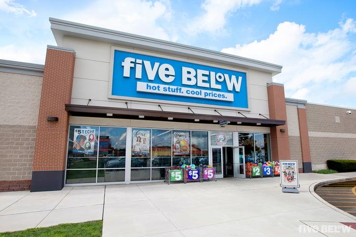 Five Below store exterior