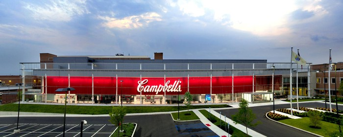 Campbell Soup Company headquarters.