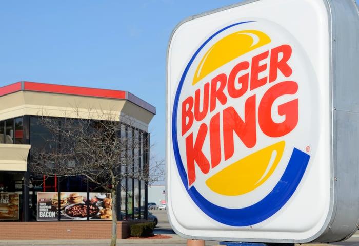 A Burger King Drive-Through Sign